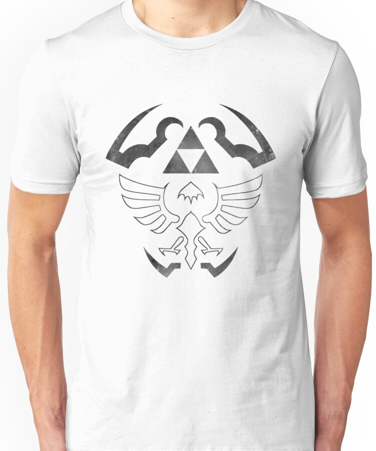 Hylian Shield - Legend of Zelda [white] Unisex T-Shirt