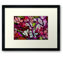 Stained Beauty © Framed Print