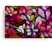 Stained Beauty © Canvas Print