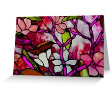 Stained Beauty © Greeting Card