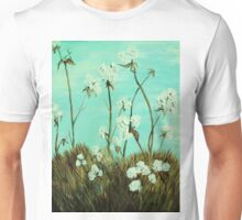 Blue Skies over Cotton Unisex T-Shirt