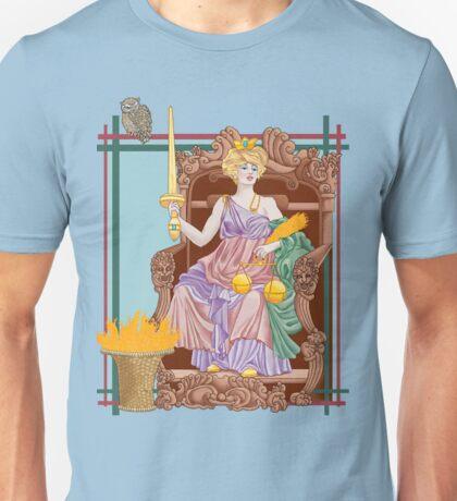 Tarot Justice Unisex T-Shirt
