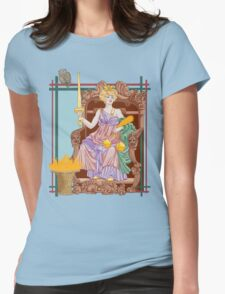 Tarot Justice Womens Fitted T-Shirt
