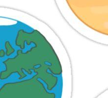 Terrestrial Planets  Sticker