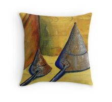 Old sieves  Throw Pillow