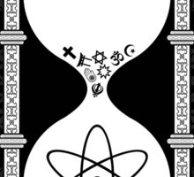 Religion's Time is Running Out Sticker