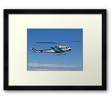 Bell 212 Twin  Helicopter Framed Print