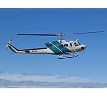 Bell 212 Twin  Helicopter Photographic Print