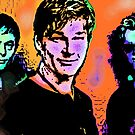 "A-HA ""THE LIVING DAYLIGHTS"" by OTIS PORRITT"
