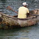 Old Boat - Lancha Vieja by Bernhard Matejka