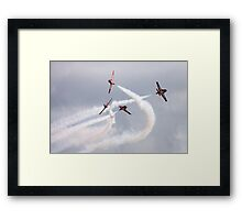 Canadian Armed Forces Snowbirds Framed Print