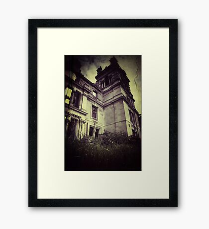Dark Tower Framed Print