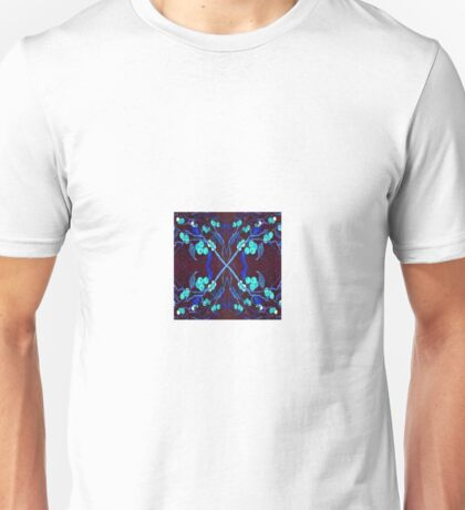 Berries and Branches on Rice Paper Unisex T-Shirt