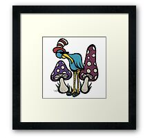 Festival Bird Framed Print