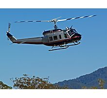 Huey Helicopter in motion Photographic Print