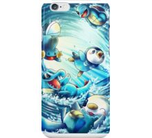 pokemon water starters phone case iPhone Case/Skin