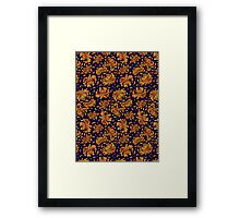 Korean Chrysanthemum - Orange Framed Print