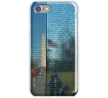 Unforgotten Memories- Vietnam Wall Memorial iPhone Case/Skin