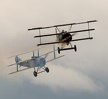 Sopwith vs Fokker by Cliff Williams