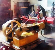 Turn of the Century Machine Shop by Susan Savad