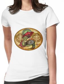 Locked On Womens Fitted T-Shirt