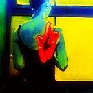 La Ballerine Brillait by Rusty  Gladdish