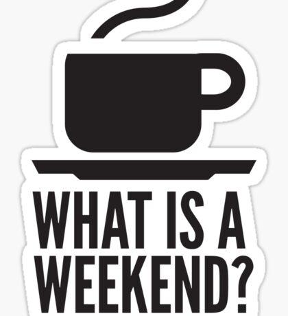 Weekend in Downton Abbey Sticker