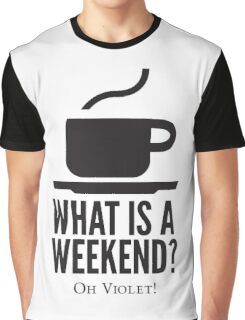 Weekend in Downton Abbey Graphic T-Shirt