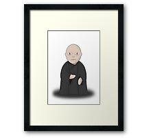 Cartoon Voldemort Framed Print