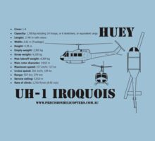 "Iroquois ""Huey"" Helicopter Kids Tee"