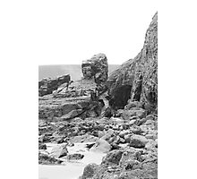 Rocks at Newgale Sands Photographic Print