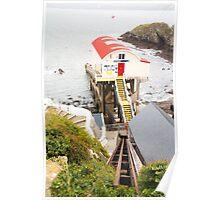 St Davids Lifeboat Station Poster