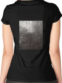 Sudsy Droplets Women's Fitted Scoop T-Shirt