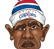 President is a Caps Fan by Billi French