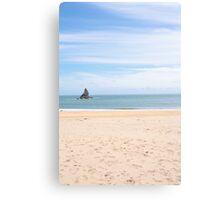Broadhaven south beach Canvas Print