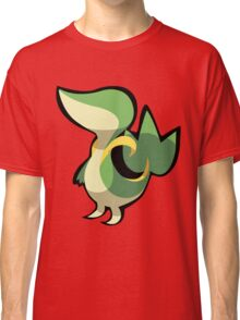 Snivy Stylized Vector Classic T-Shirt