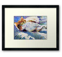 """Sunny Spot"" Framed Print"