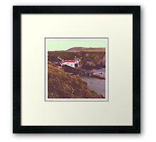 St Davids Lifeboat Station Framed Print