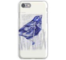 Bird in the Marsh iPhone Case/Skin