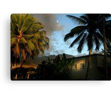 Hawaii Moon Canvas Print