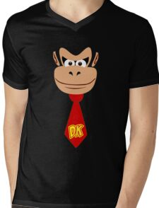 Monkey Kong Mens V-Neck T-Shirt