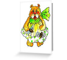 Bee with me ! Greeting Card
