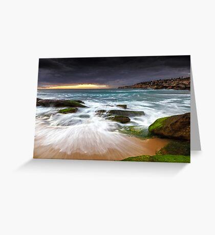 Swirls on the Rock Greeting Card