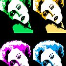 Marilyn Monroe Pop Art by Natalie Kinnear
