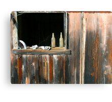 Abandoned villiage in Hawaii Canvas Print