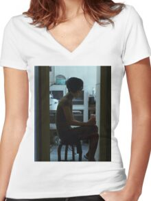 in the mood for love 2 Women's Fitted V-Neck T-Shirt