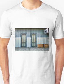 Bathroom Doors Unisex T-Shirt