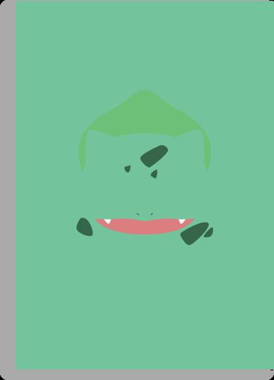 Pokemon - Bulbasaur by DerfGnay