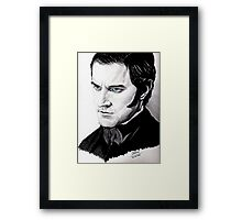 "Richard Armitage ""so, you are going..."" Framed Print"