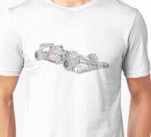 McLaren 2012 F1 Car Unisex T-Shirt
